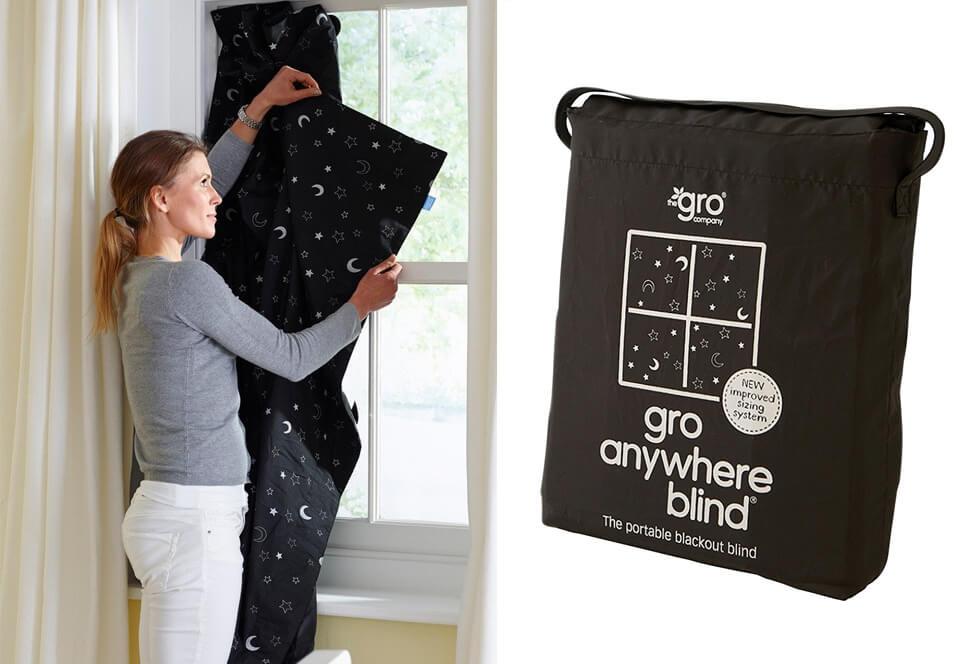 gro anywhere blackout blind adoption card shop. Black Bedroom Furniture Sets. Home Design Ideas
